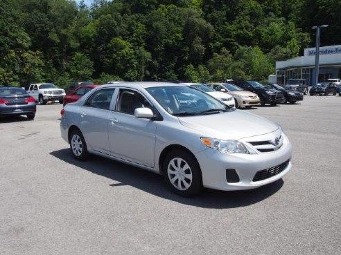 2013 Toyota Corolla L For Sale Morgantown Wv 1 8l Dohc